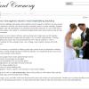 Web Content: Beach Weddings