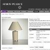 Product Description: Pottery Lamp