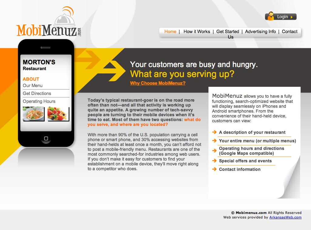 Web Content: Mobile App
