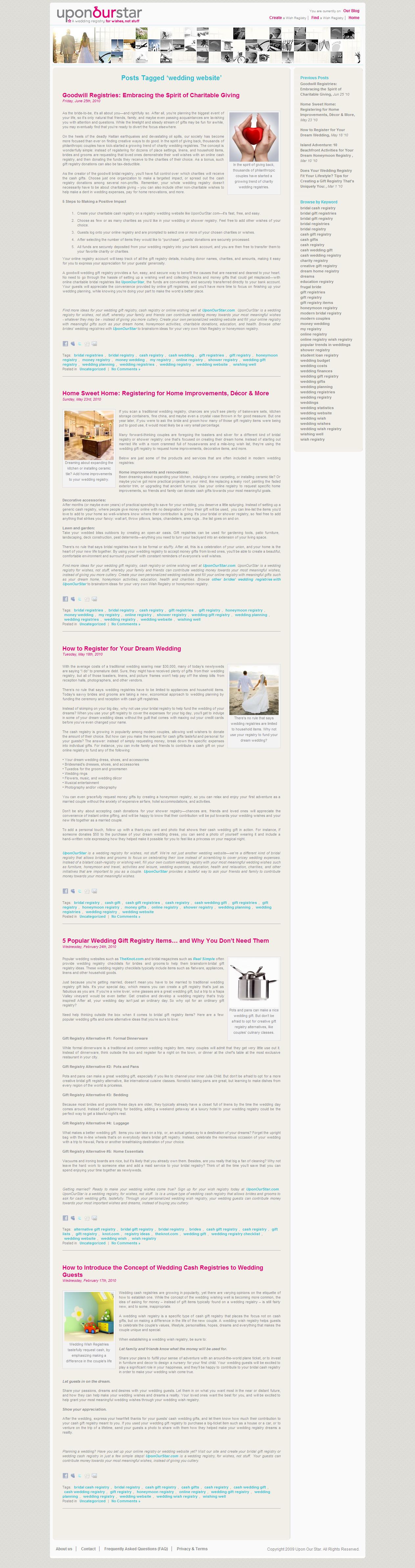 Wedding Article: Registry Blog - Words By Melissa - Cincinnati ...