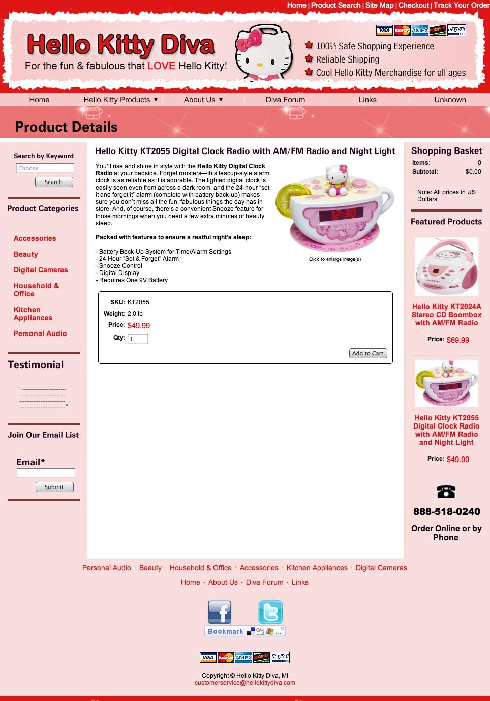 Product Description: Clock Radio