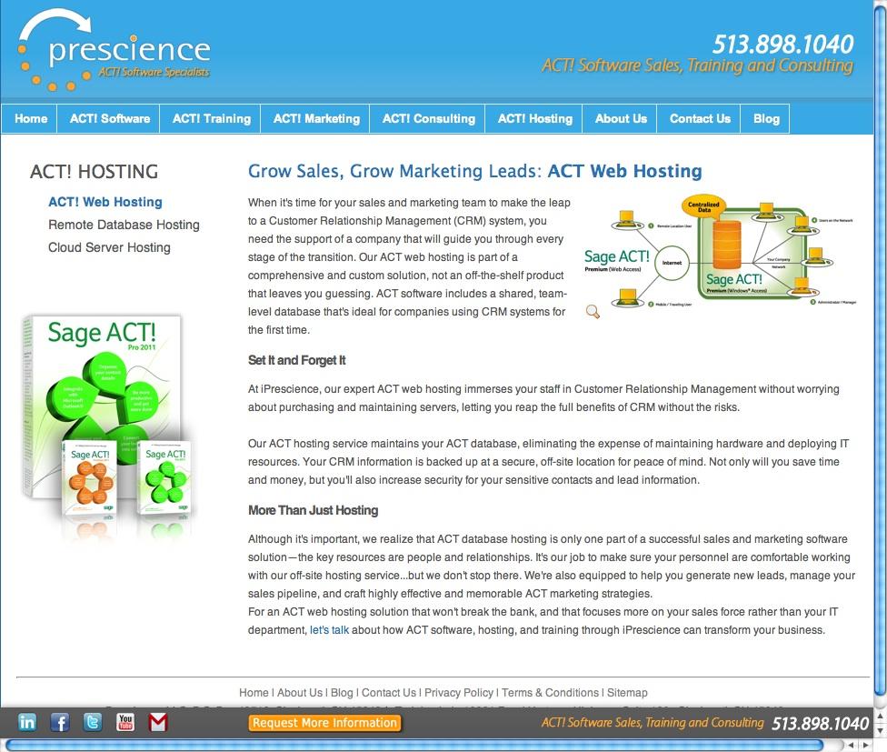 Web Copy: Web Hosting Software