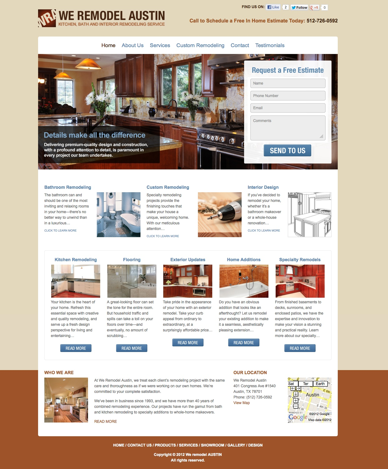 Home Page Remodeling Words By Melissa Cincinnati Freelance Copywriter
