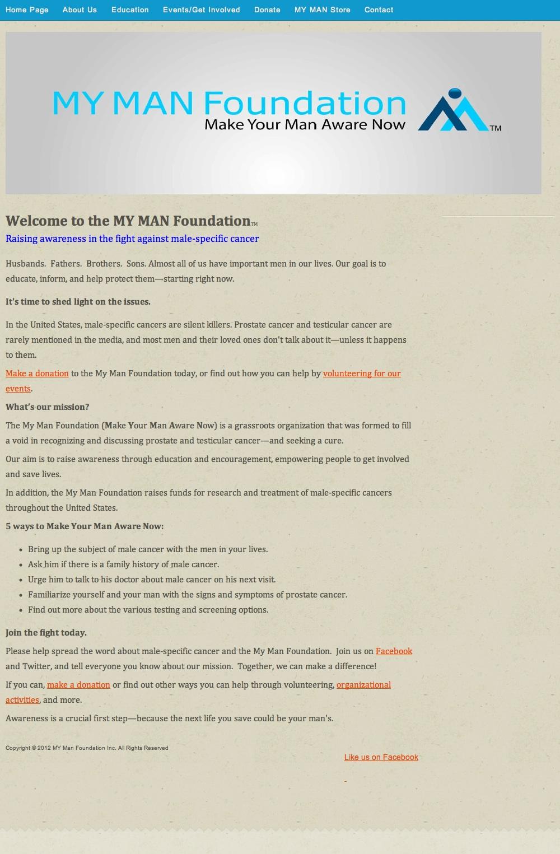 Web Copy: Non-Profit Foundation